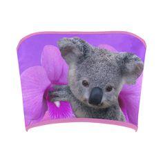 Koala Bandeau Top. FREE Shipping. FREE Returns. #artsadd #tops #koala