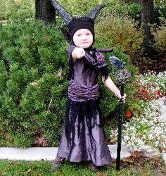 Maleficent costume - adorable!
