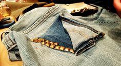 6 maneras de devolverle la vida a esos viejos jeans que tanto te gustan