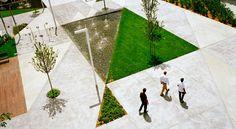 Fountain Square by Labics - Landscape Architecture Works   Landezine