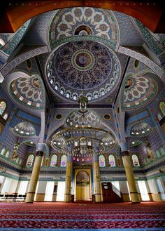 Interior Of Sukh Chayn Mavi Mosque, Lahore, Pakistan by Minhaj Qazi