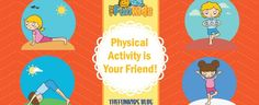 Be Physically Active, Not Physically Combative! Tell your kids to take out their restless energy through exercise and work out!