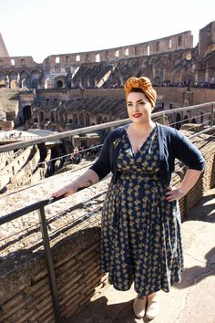 My Roman Holiday Plus Size Fashion Dresses, Big Size Fashion, Plus Size Fashion For Women, Curvy Fashion, Plus Size Outfits, Vintage Wardrobe, Vintage Outfits, 1950s Fashion, Vintage Fashion