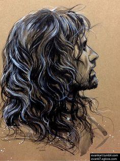 Aragorn. woah umm how do someone art?????????