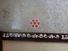 Rangoli Designs Photos, Simple Rangoli, Outline, Drawings, Diy, Decor, Decoration, Bricolage, Sketches