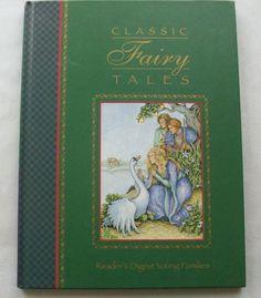 $3.00 Readers Digest Classic Fairy Tales 2000 HC (41415-795) children books, bedtime