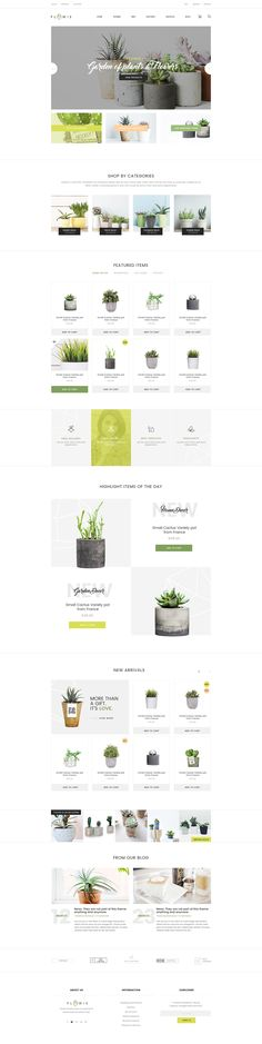 Flowie is a simply beautiful and delightful PSD template speacially designed for gardening and home decoration online shop. You will immediately fall in love with those cheerful and easily customizable layouts of Flowie. A perfect choice for your little a…