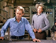 SHANE (1953) - Alan Ladd & Ben Johnson