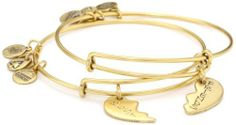 """Alex and Ani """"Charity by Design"""" Best Friends Russian-Gold Bangle Bracelet, Set of 2 Alex and Ani,http://www.amazon.com/dp/B007UMD8LE/ref=cm_sw_r_pi_dp_o8mWrbC7175B4294"""