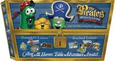 NEW VBS Veggie Tales - Pirates Who Don't Do Anything - Complete Set