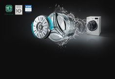 LG : KG Smart Eco Hybrid™ Washer™ Dryer with True Steam™ technology Find Picture, Washer And Dryer, Technology, Tech, Washing And Drying Machine, Tecnologia