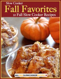 Plan tasty fall slow cooker recipes to enjoy throughout the season with our latest Slow Cooker Fall Favorites 21 Fall Slow Cooker Recipes free eCookbook. This free eCookbook is packed with the season's best slow cooker recipes.