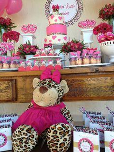 Encontrando Ideias: Festa Oncinha Pink!!