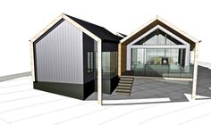 Lurie Concepts specialises in designing bespoke environmentally-friendly homes and renovations for clients throughout the South West and Perth. Sustainable Building Design, House Cladding, Modern Barn House, Modern Farmhouse Exterior, Shed Homes, Building A Shed, Tiny House Plans, Villa, House Layouts