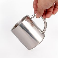 Premium Stainless Steel Water Mugs Double Wall Coffee Juice Drinking Cups for Adult Children Kids Toddlers. Click visit to buy #Mug