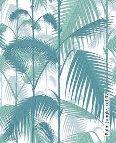 Tapete: Palm Jungle, col.02 - Die TapetenAgentur