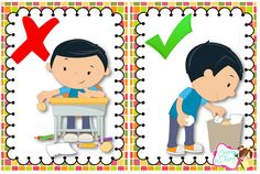 Classroom Rules, Classroom Decor, Daily Schedule Preschool, Cd Wedding Favors, School Frame, School Clipart, Learning Arabic, Children Images, Preschool Learning