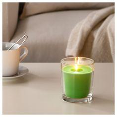 Ikea Kerzen Im Glas sinnlig duftkerze im glas brombeere lila jetzt bestellen unter