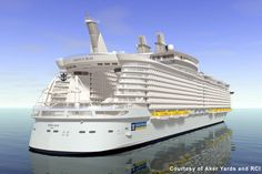 Wishing to travel on The Oasis of the Seas!