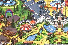 Carnation Plaza Gardens at Disneyland