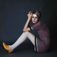 'I was probably the first famous working-class supermodel. During that period it was more fashionable to be working class,' said Twiggy (pictured in her 1967 heyday) Fashion 60s, Fashion Models, Vintage Fashion, Sporty Fashion, British Fashion, Fashion Women, Moda Retro, Moda Vintage, Moda Hippie