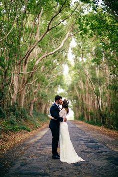 QUIERO UNA BODA PERFECTA: Neil & Krystal, una boda romántica y muy sencilla