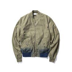 ConceptsIntl   JOHN ELLIOTT INDIGO BLEED BOGOTA (OLIVE) Spring Outfits, Hemline, Military Jacket, Indigo, Bomber Jacket, Men's Jackets, Clothes, Collection, Fall