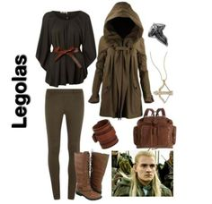 lord of the rings inspired outfit ~ legolas.