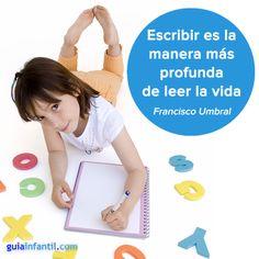 Anima a tus hijos a escribir para despertar su creatividad: http://www.guiainfantil.com/blog/767/motivar-a-los-ninos-a-escribir-historias.html