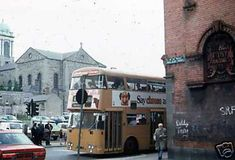 Dublin 1979 | MajorCalloway | Flickr Ireland Pictures, Old Pictures, Old Photos, Dublin Street, Dublin City, Church Of Ireland, Dublin Ireland, Abandoned Churches, Colourful Buildings