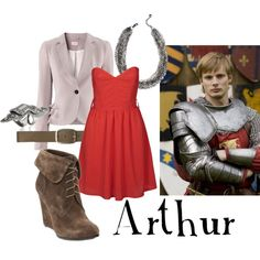 Fashionable Fandoms: Arthur Pendragon (Merlin), created by companionclothes on Polyvore