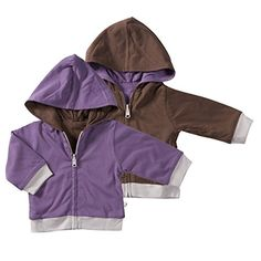 Babysoy Year Round Reversible Hoodie 1224 Months Eggplant * Click image for more details. (This is an affiliate link) Baby Boy Outfits, Eggplant, Rain Jacket, Windbreaker, Raincoat, Hoodies, Baby Boys, Image Link, Clothes
