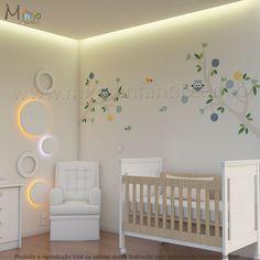Decoração para quarto de bebê – Adesivos Corujinhas Théo - http://www.mimoinfantil.com.br/decoracao-para-quarto-de-bebe-adesivos-corujinhas-theo/