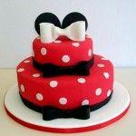 Tortas de cumpleaños de Minnie