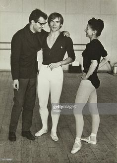 Photo d'actualité : Photograph.Rudolf Nureyev and Margot Fonteyn with...