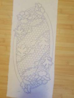 Sketch 4, Cut Work, Filet Crochet, Tatting, Embroidery, Lace, Pattern, Handmade, Decor