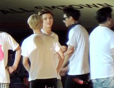 """When luhan runs his hand gently across sehun's arm from his face it's like he's thinking """"omg...what's happening to my body...why is it responding this way...""""<<<<Hunhan is real"""