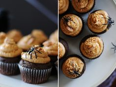Personally I don't like butterfingers but I must admit that these Butterfinger Cupcakes are pretty badass ;)