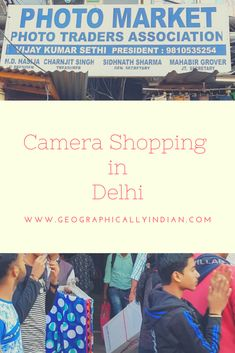 Camera Shopping in Delhi is unlike any other city. From camera markets in old Delhi to new shops in different districts, Delhi has something to offer anyone with whatever budget including the bargain hunter Camera Shop, Photography Equipment, Travel Information, New Shop, Budgeting, Shops, Marketing, City, Shopping