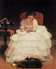 Alfred Stevens (Belgian: 1823-1906)