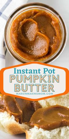 Learn how to make this delightfully sweet and spiced pumpkin butter, using canned pumpkin puree or homemade pumpkin puree! Perfect for biscuits or rolls, pancakes or waffles, it's an easy spread for fall! Homemade Pumpkin Puree, Spiced Pumpkin, Pumpkin Butter, Healthy Pumpkin, Apple Butter, Canned Pumpkin, Pumpkin Pie Spice, Best Pressure Cooker Recipes, Instant Pot Pressure Cooker