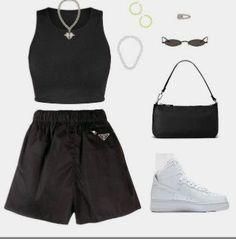 Style Outfits, Mode Outfits, Retro Outfits, Cute Casual Outfits, Tomboy Fashion, Teen Fashion Outfits, Look Fashion, Streetwear Fashion, Mode Kpop