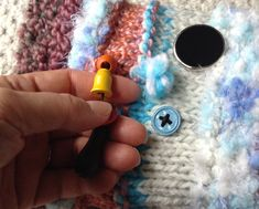 Twiddle muff to keep dementia patients' hand busy. For every twiddle muff sold, I'll make and donate another twiddle muff to a local long term care facility. www.ItsVera.ca