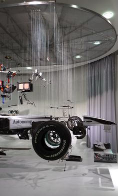 interesting way to display a car #exhibit design # Exhibition Stands # trade shows
