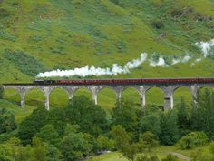 Six iconic rail journeys in Scotland, with incredible scenery, nature, history, and architecture, all from the comfort of your train carriage.