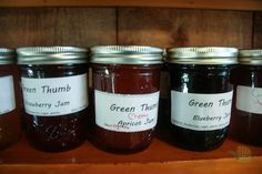 Homemade jam at the Green Thumb in Water Mill, NY