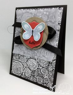 Scrap Sunday – Hallo- destempelolifant - Stampin' Up! - Tree Rings - Watercolor Wings