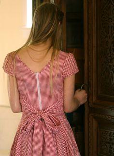 Patron et tuto gratuit pour cette robe de picnic