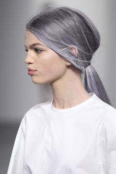 ... LOVE THE SILVER HAIR (But I have a purple fauxhawk with the silver LOL) Daphne +pastel hair