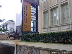 Centro de Arte Popular CEMIG em Belo Horizonte, MG, BR.    Localizado na Praça da Liberdade.     Seu acervo é voltado para a arte e cultura popular mineiras.      A entrada é gratuita.      Foto : Cida Werneck